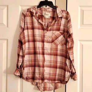 3/$15 Flannel shirt